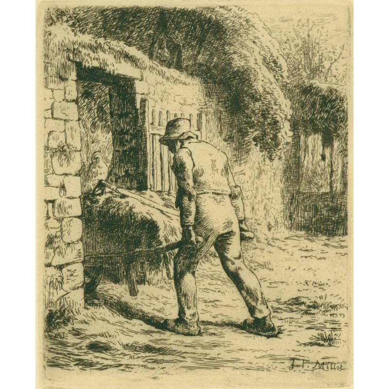 Peasant Returning from the Manure Heap