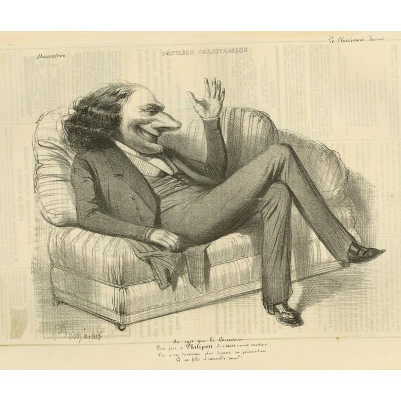 Philipon, Caricaturist