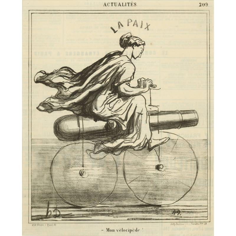 Mon vélocipède !